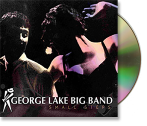 George Lake Big Band Small Steps CD image